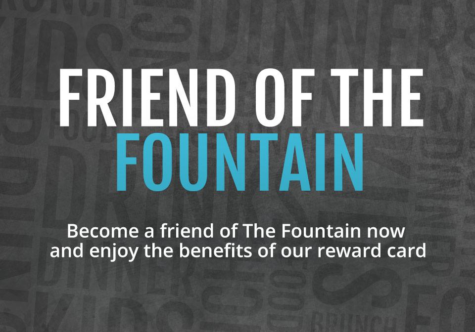 Get a Fountain Reward Card